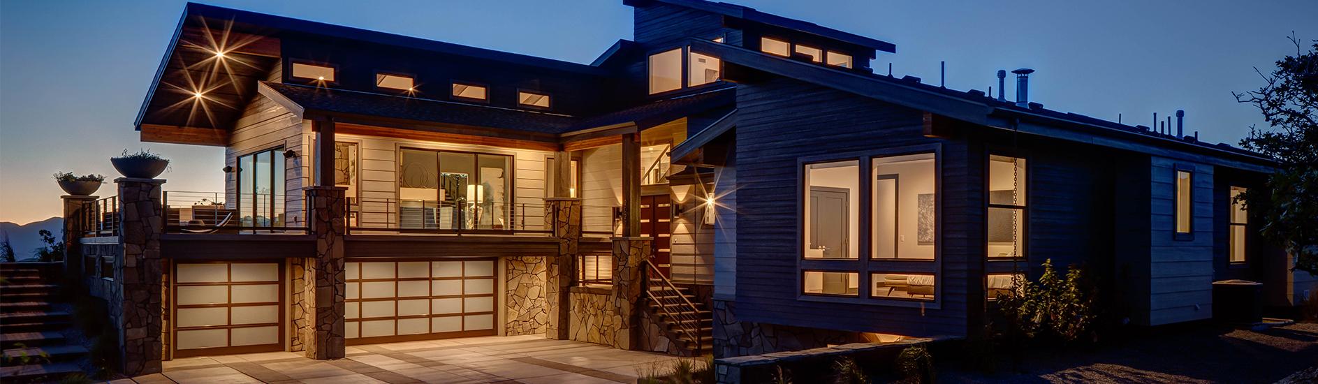 Black Aluminum Garage Doors Innovative Home Design