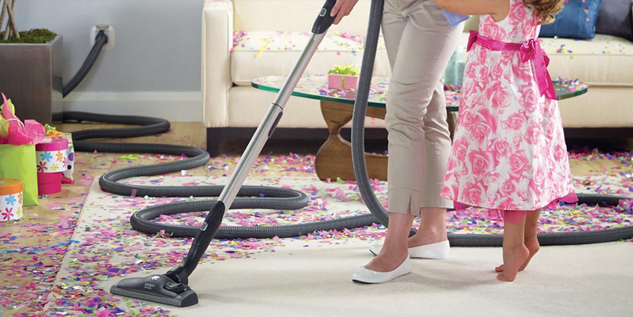 Beam vacuum clean up